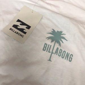 Billabong White T-shirt